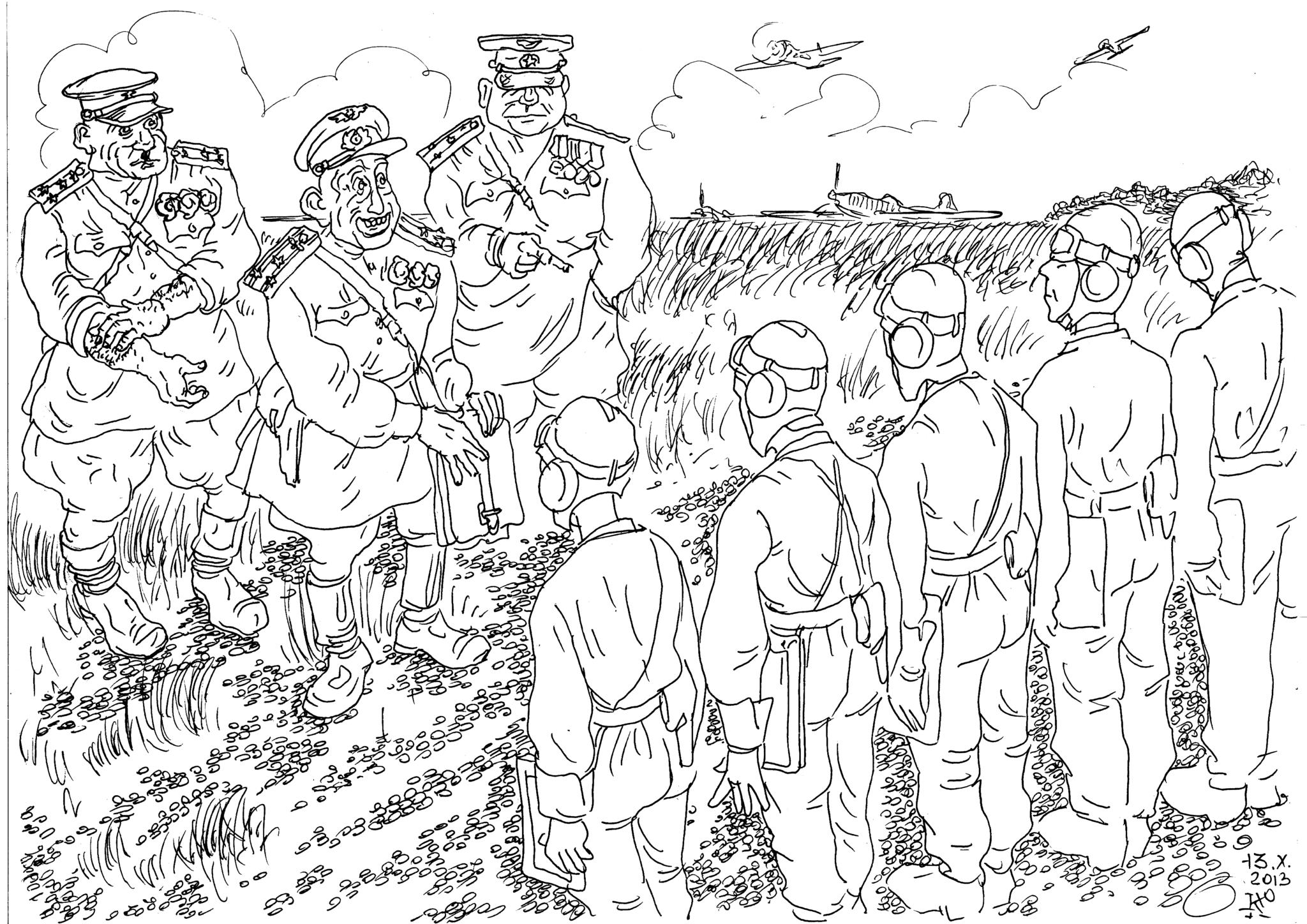 Сталинские соколы «под колпаком» парамоновых