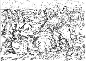 Русские бойцы воевали в составе дивизии имени Т.Костюшко