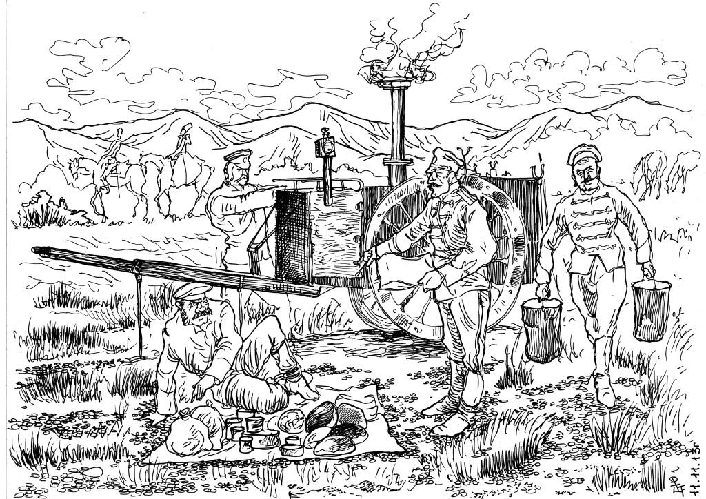 Заботливые отцы-командиры Царской Армии, и отличие их от полководцев россиянской армии