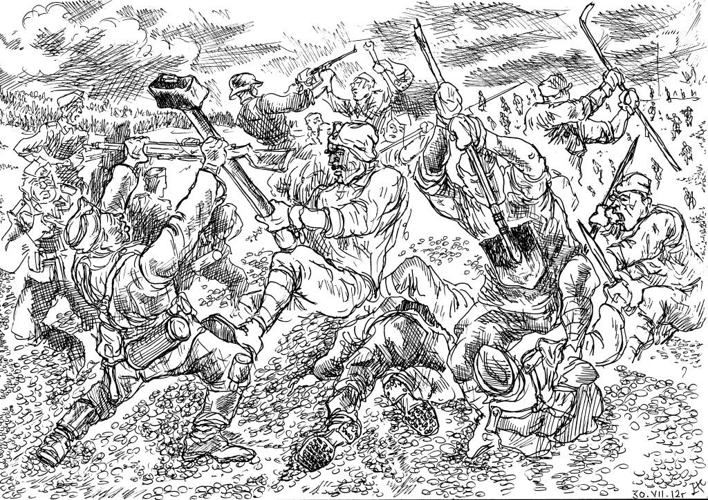 Предполагаемая роль железнодорожных войск РККА в начале Великой Отечественной войны
