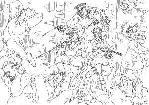 Уничтожение заключённых в начале Отечественной войны в июне 1941 года