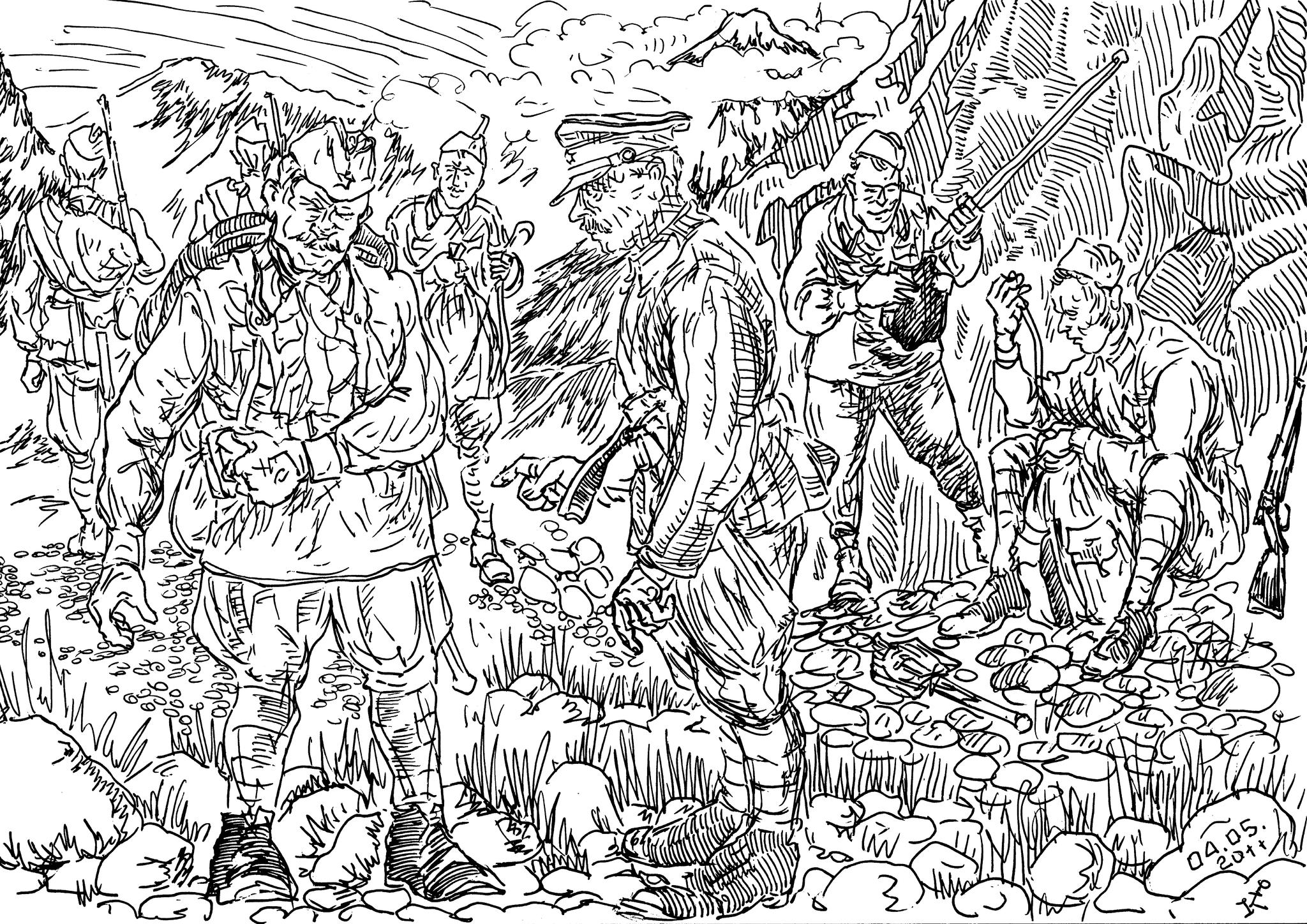 Высокогорные стрелковые части РККА формировались уже в ходе войны