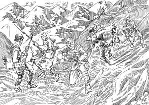 Германские солдаты избегали штыковых атак