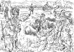 «Какой генерал не мечтает стать солдатом», попав в окружение