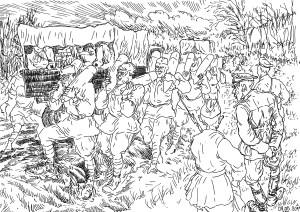 Парадоксы первых месяцев войны