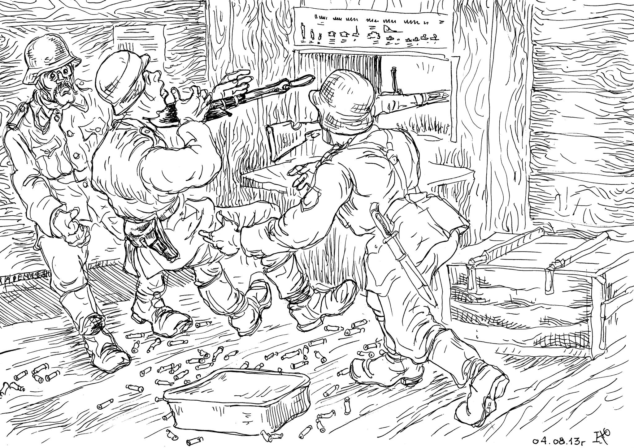 СС «Галиция» и штрафники-гулаговцы
