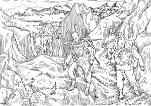 Мутанты (нежить и нелюди) пропадали, не проходя горного чистилища