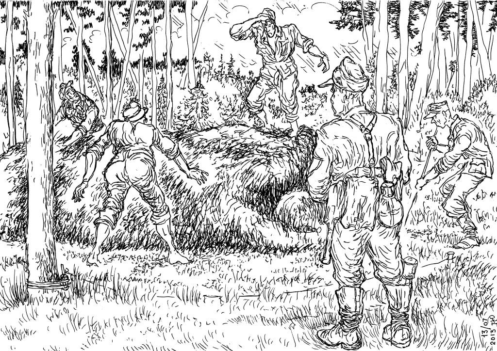 Егеря Вермахта против диверсантов НКВД