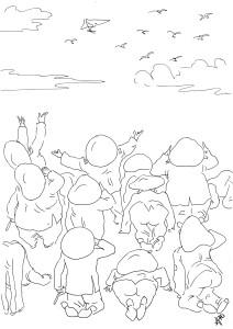 «Белые стерхи» на дельтапланах