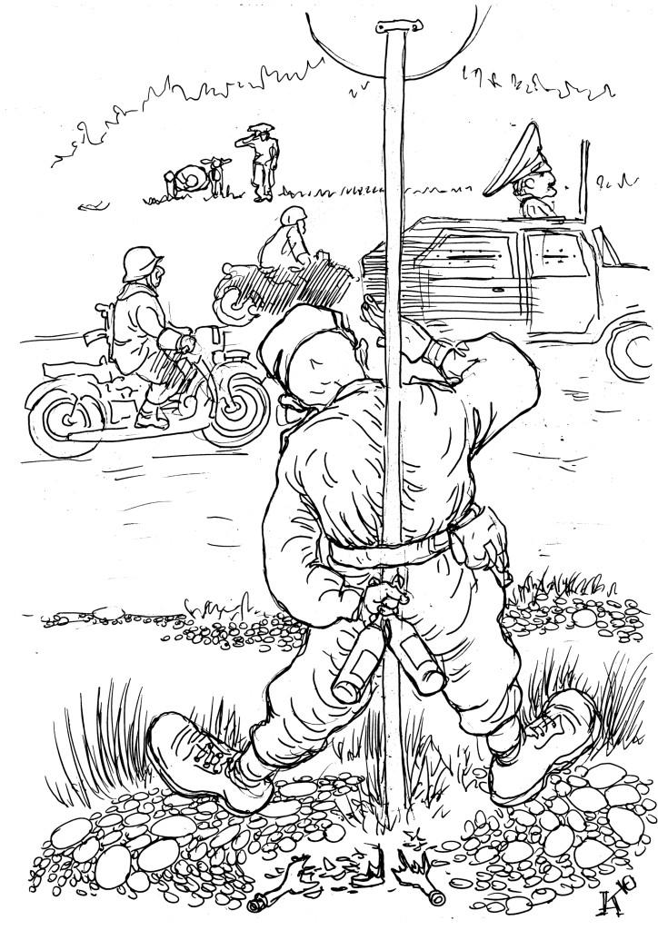 Генерал ГИБДД любит устраивать подчинённым весёлые розыгрыши