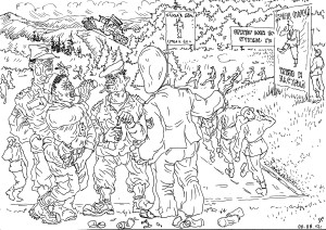 Строевые занятия — нирвана для военачальников
