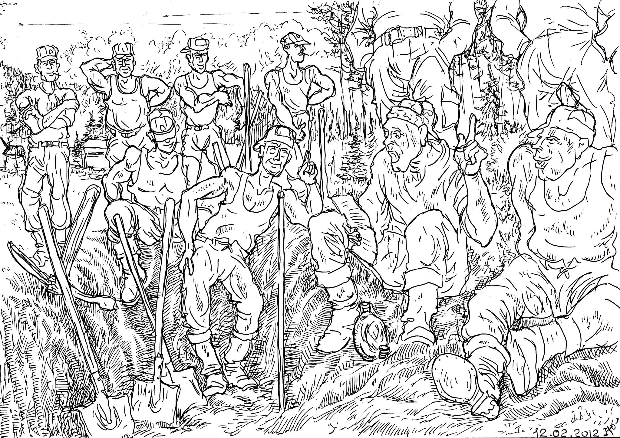 Солдаты, при ведении земляных работ, выкопали солдатскую фляжку, в которой обнаружили письмо потомкам