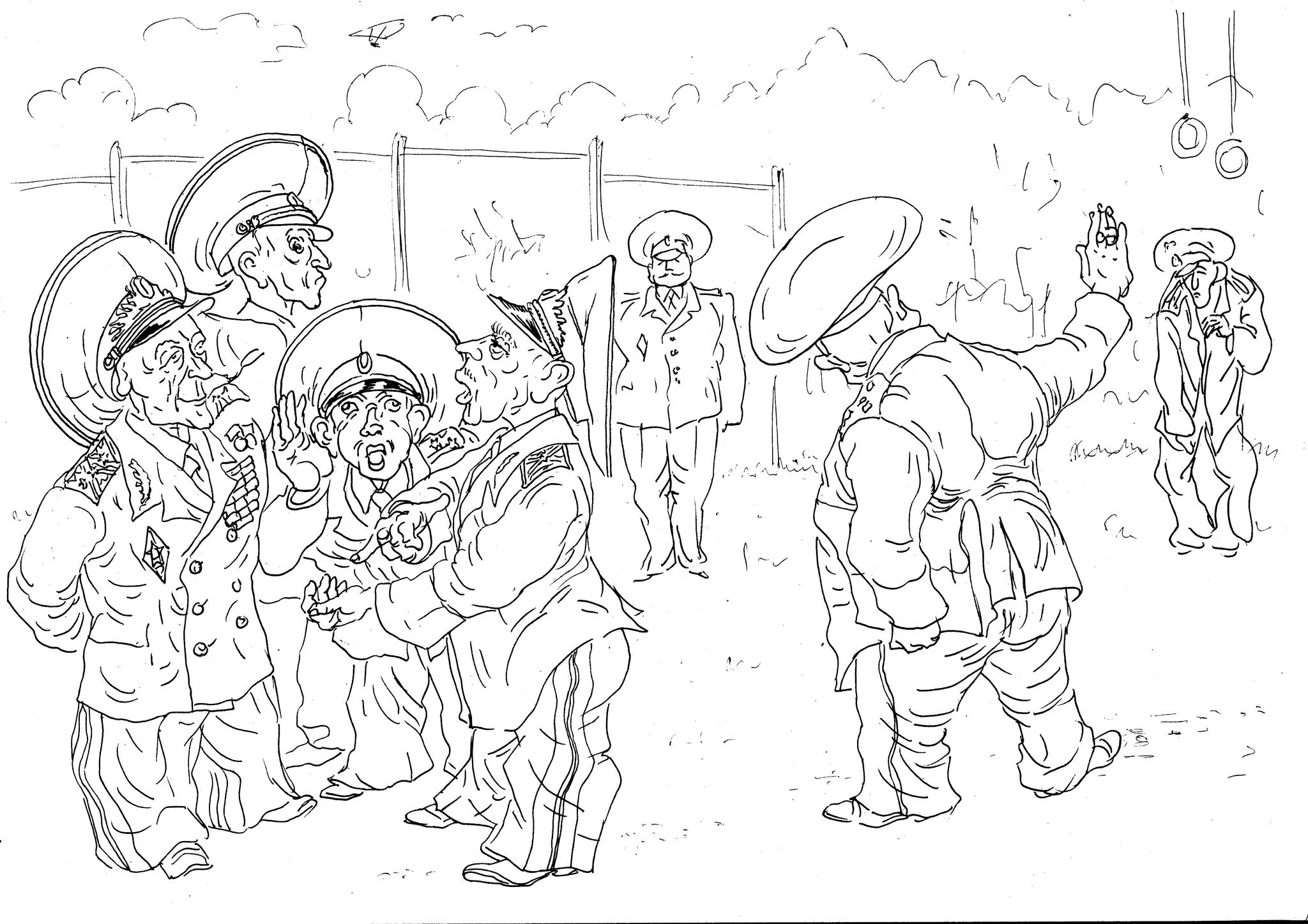 Воинскую часть инспектируют «Московские военинспектора»