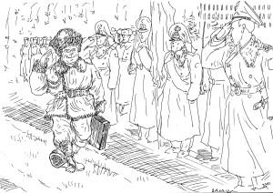 Увольнение в запас «дедушки строительных войск»