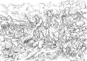 В начале Великой Отечественной войны в массе своей красноармейцами руководили выдвиженцы от народа