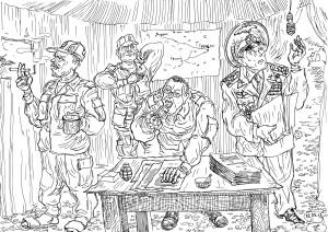 Адъютант-москвич посетил «горячую точку» с «особым» заданием