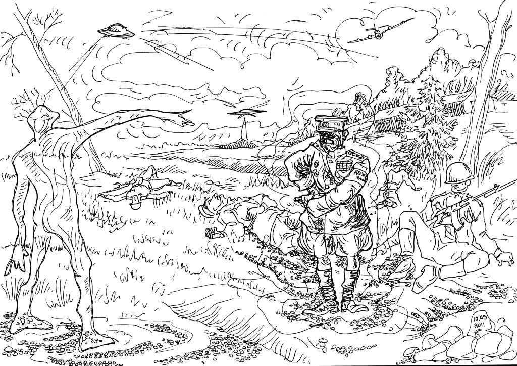 Хвалёная сила мысли визитёра с НЛО нипочём советскому полковнику