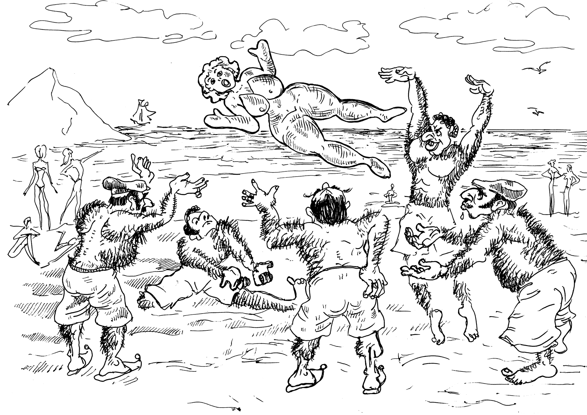Этих «настоящих» горячих мужчин игрой в мяч не заманишь