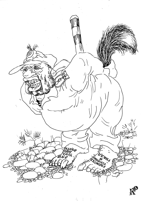 Гаишник в одиночку отбился от стаи волков!