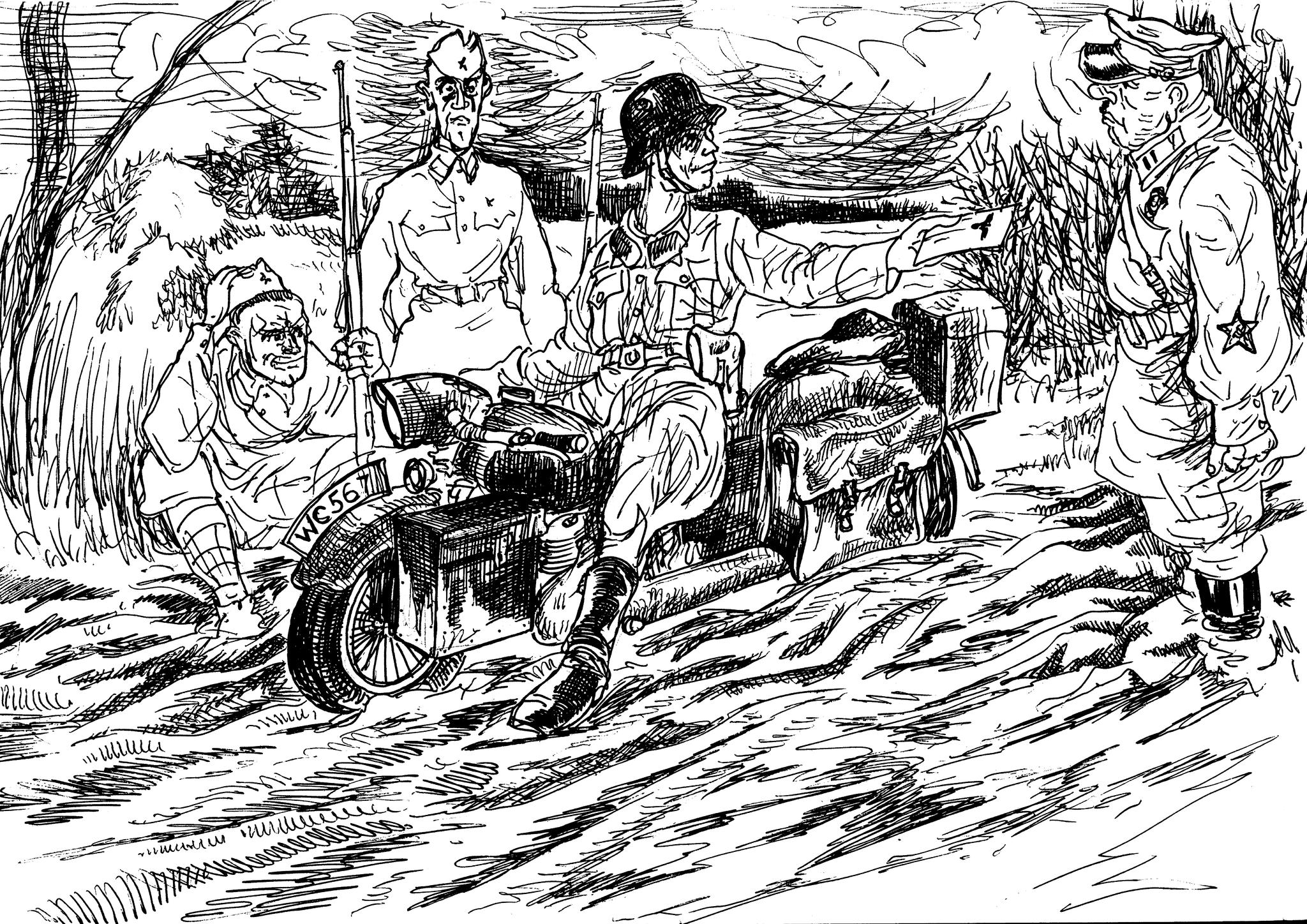 Мотоцикл — хорошо, а порой лошадка — лучше