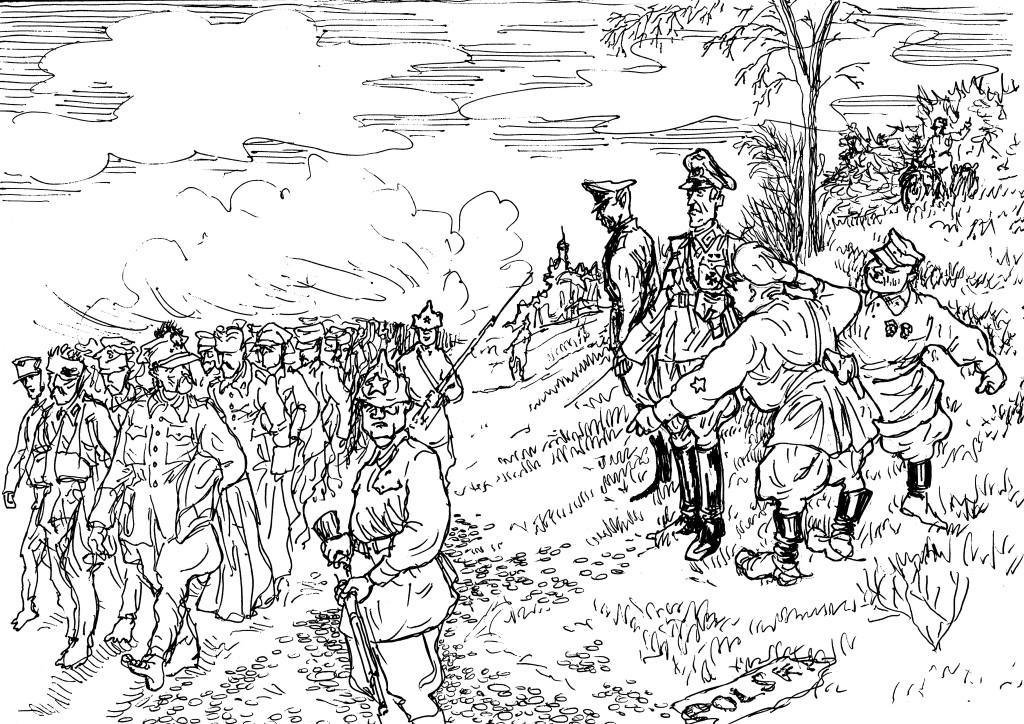Роль Польши в войне гитлеровской Германии против Советской России и СССР