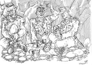 Горные стрелки Вермахта. Солдаты Вермахта должны были быть готовы к походу и бою незамедлительно
