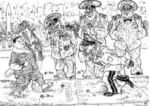 Событие небывалого масштаба — сынок депутата в армии