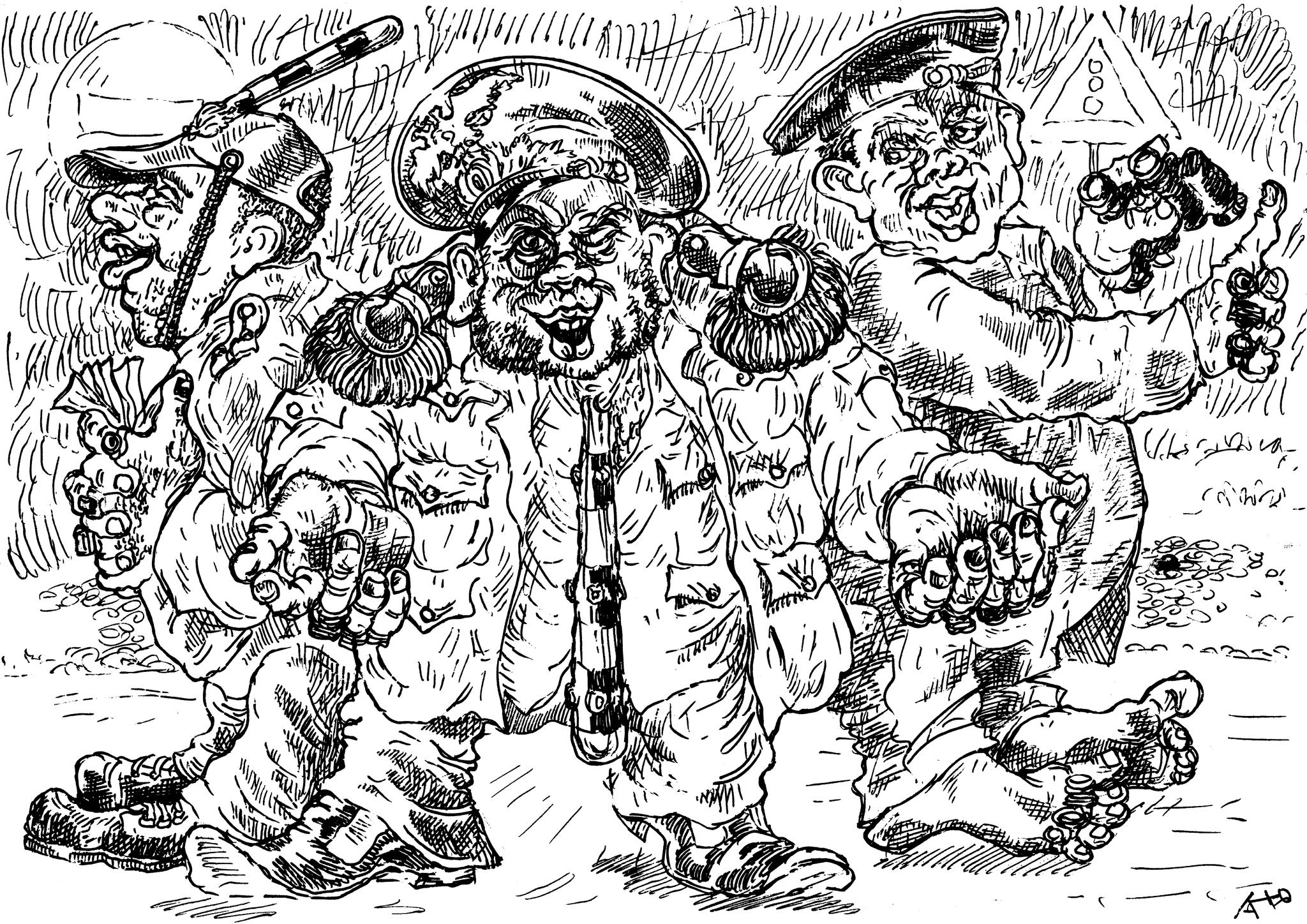 Три беды России