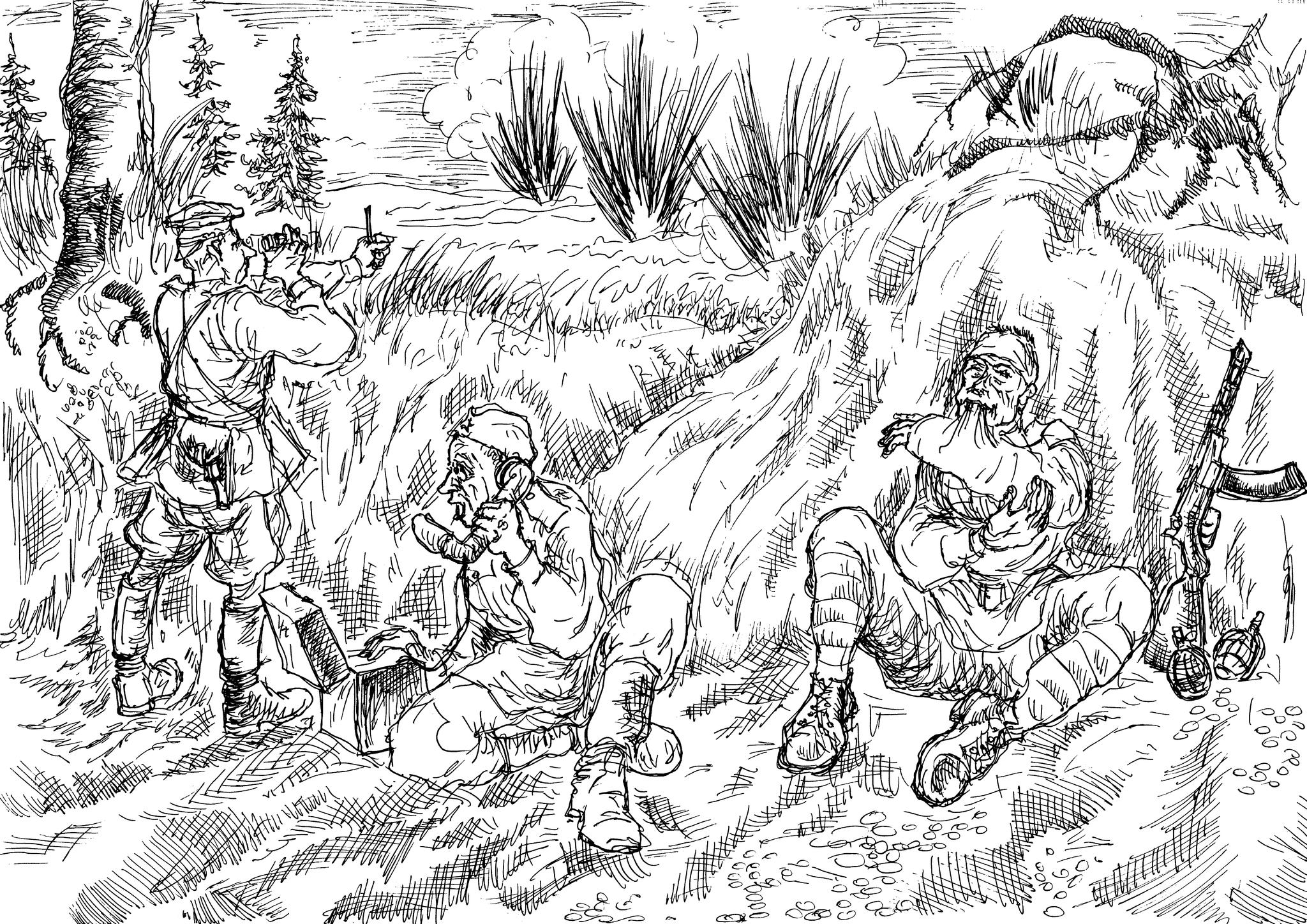 Корректировка огня артиллерии