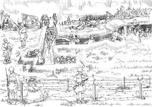 Командно-наблюдательный пункт фронта. Штабная служба — «нерв» армии