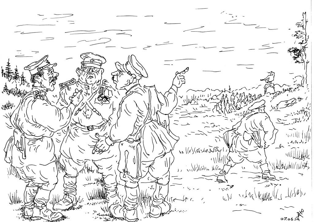 Боевая подготовка призванного контингента