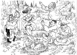 Маёвка малороссов на чужой земле — в России