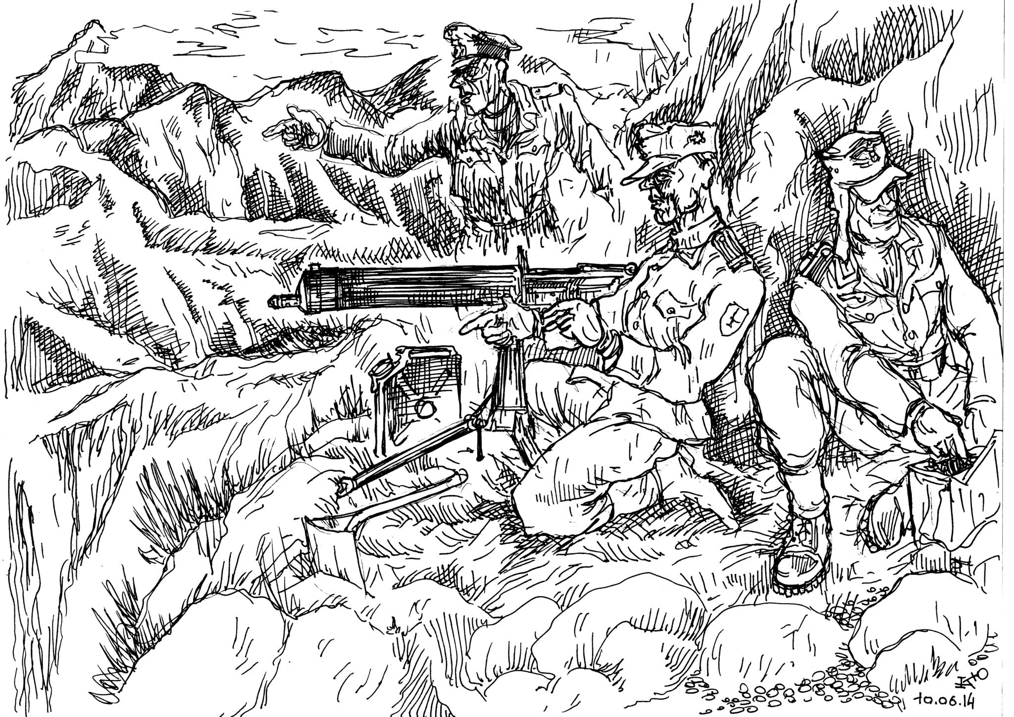 Горные стрелки Вермахта и специфика горной войны