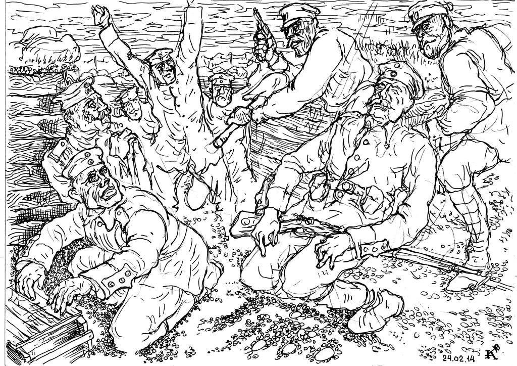 Русская пехота творила чудеса
