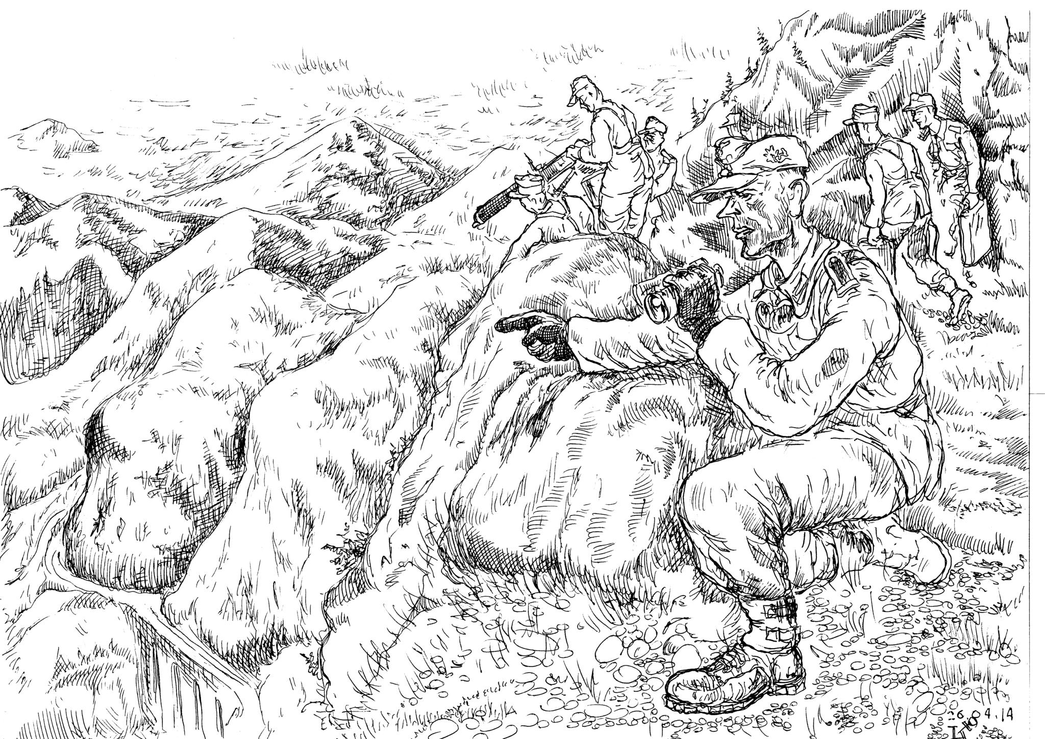Горные стрелки — лёгкая пехота, призванная решать более тактическе задачи, нежели задачи собственно боя