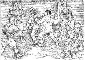 Допрос добровольцев из украинской добровольческой дивизии СС «Галичина»