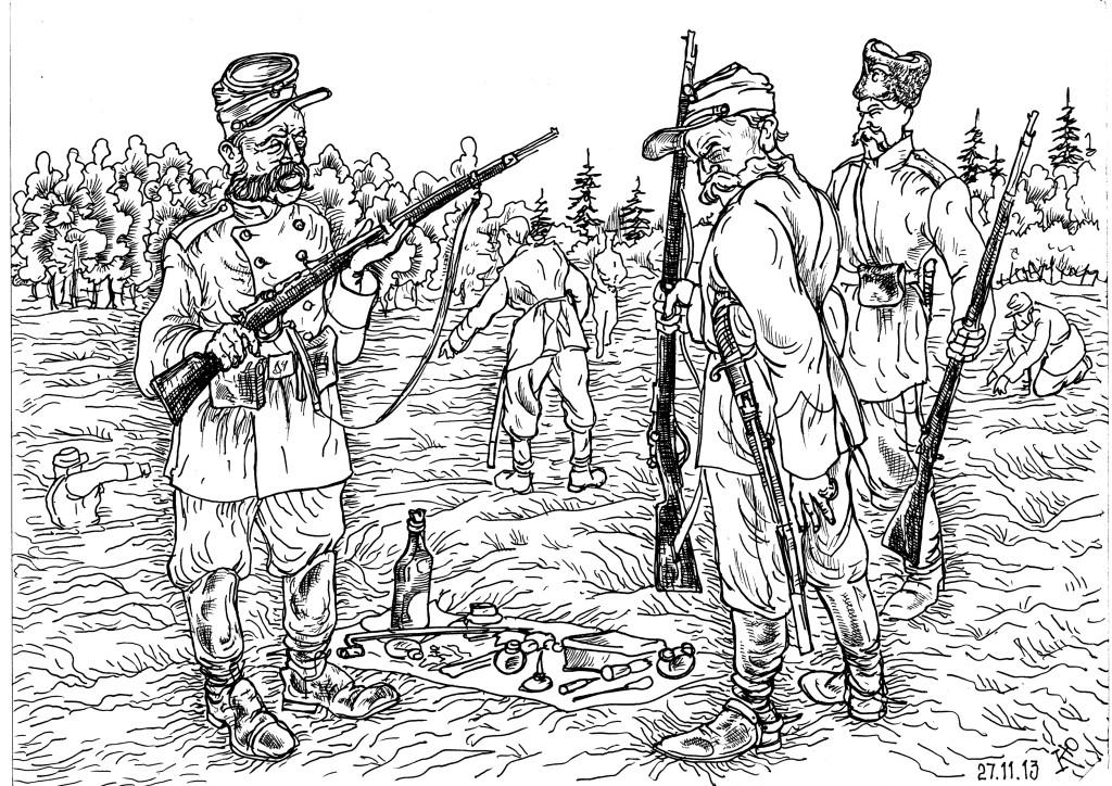 Легенда стрелкового вооружения — винтовка Бердана