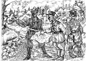 Против немцев воевали сообща, выковывая боевое содружество, и советские партизаны и украинские националисты