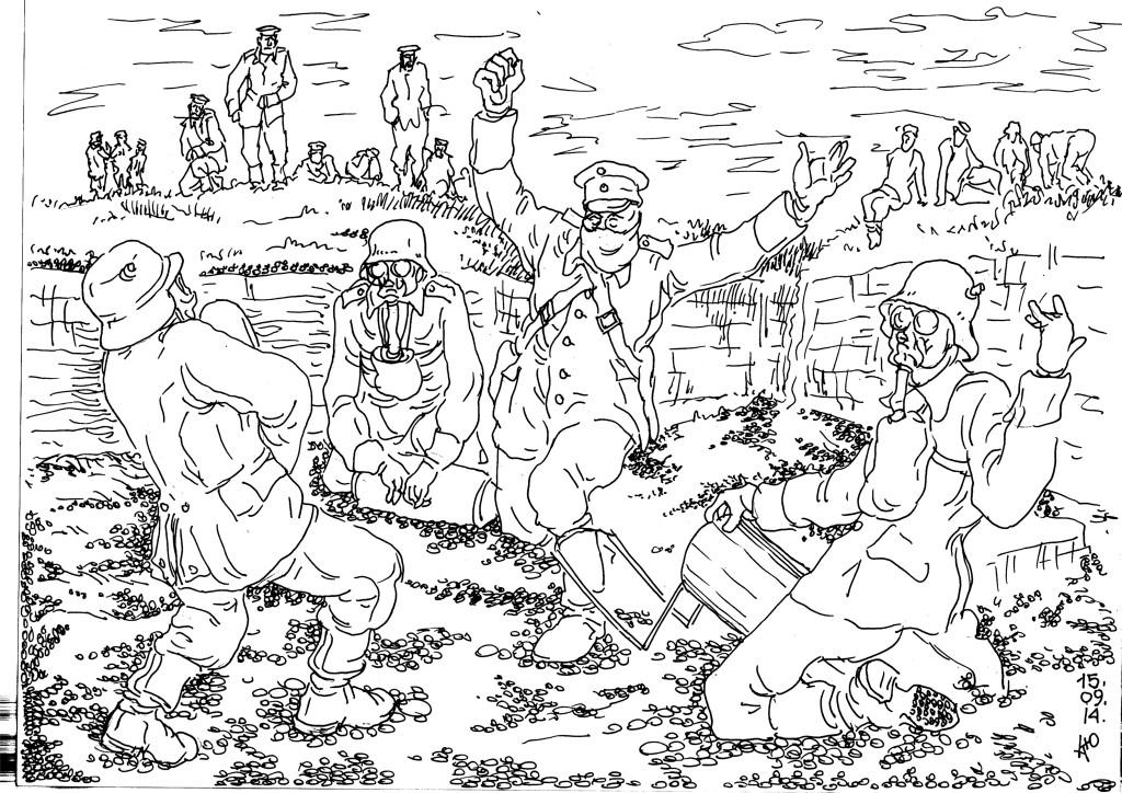 Немецкая сторона первой применила химическое оружие в Первой Мировой войне
