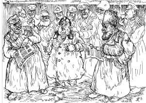 Народ стал слишком грамотным и больно много читает, в том числе, что «прискорбно», вести с заседаний Думы