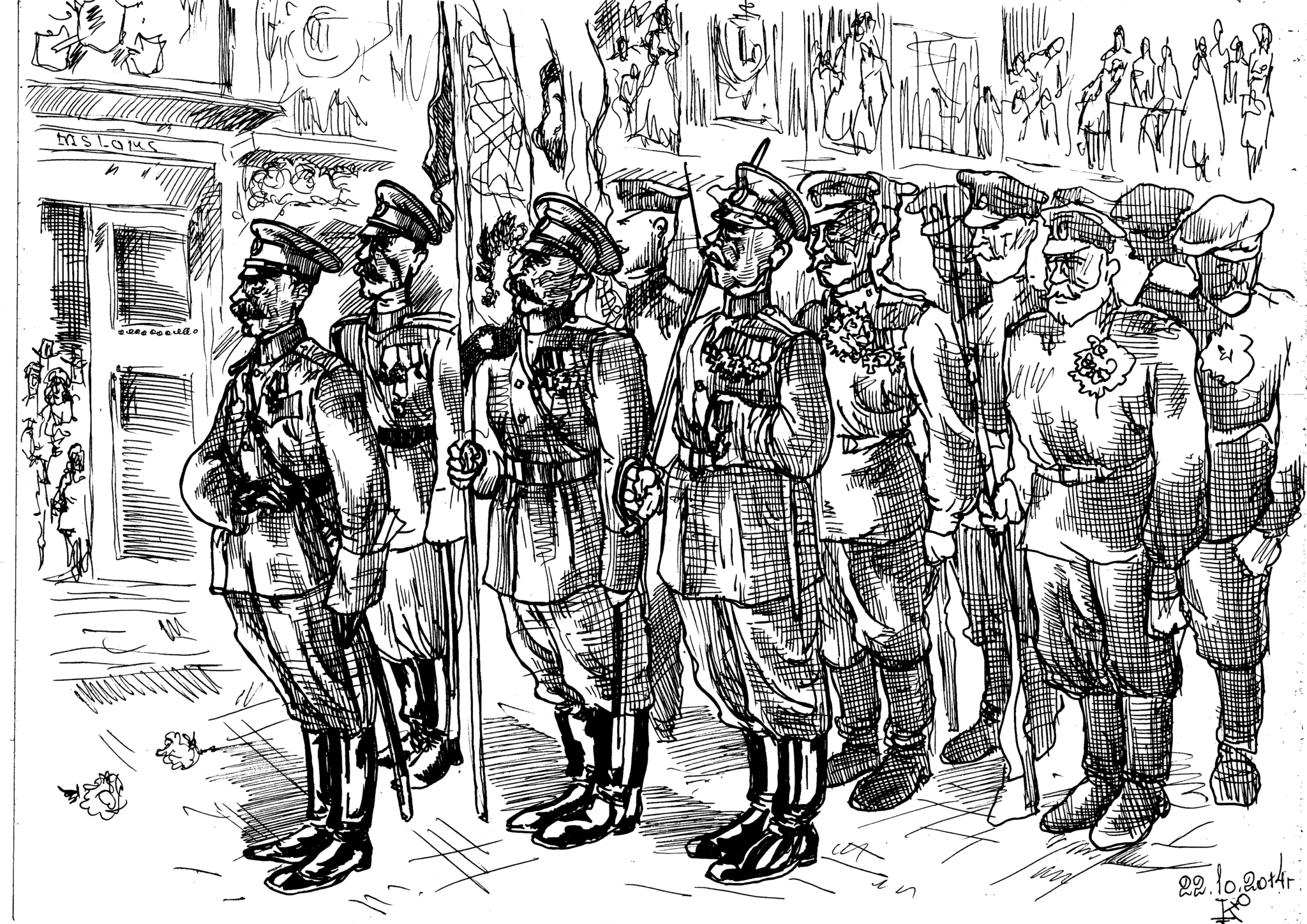 Русский легион, как самостоятельная единица Иностранного легиона французской армии