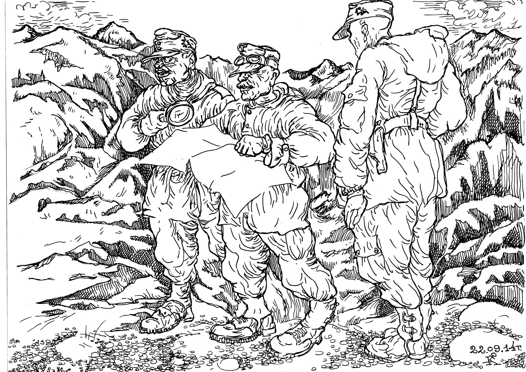 Хвалёное европейское образование не помогло горным стрелкам Вермахта