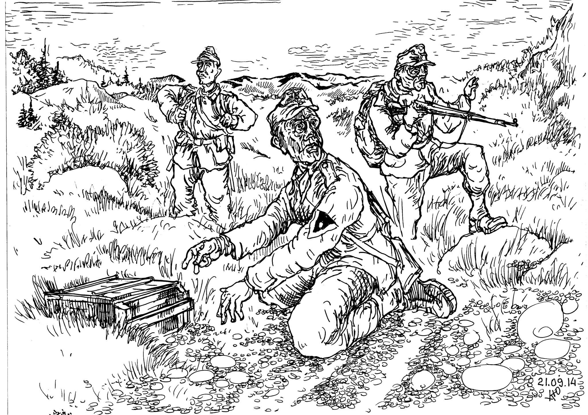 Горный стрелок — он и скалолаз, и стрелок, и сапёр, и артиллерист…