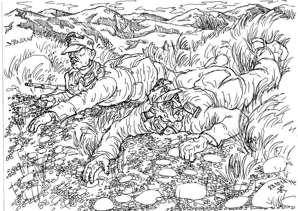 Взаимовыручка — залог успеха горных стрелков