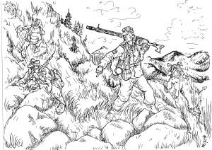 Тактика горнострелковых частей Вермахта