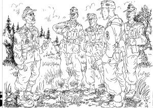 Унтер-офицерский состав в немецкой армии