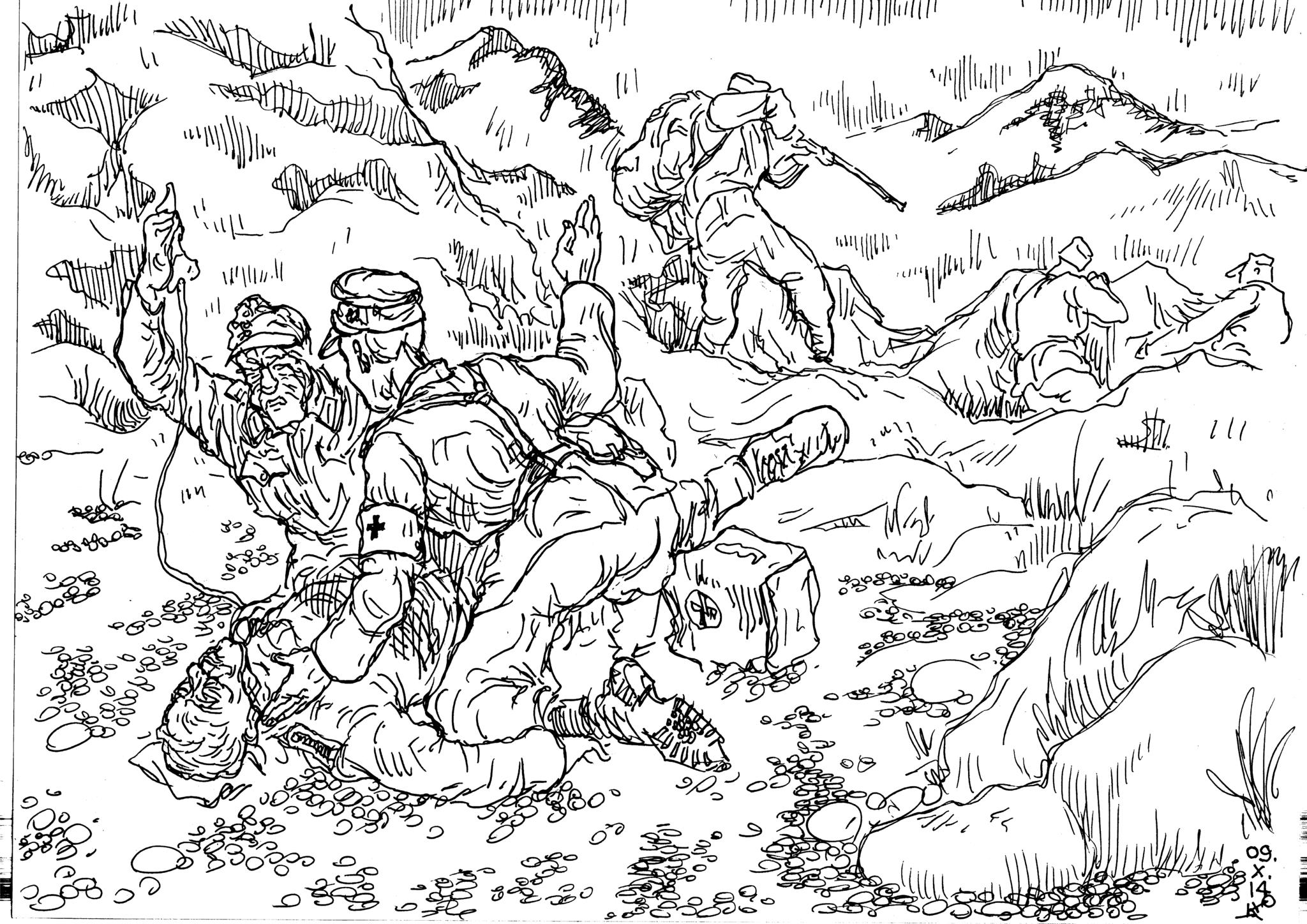 В горах любая рана или травма могли стать смертельными